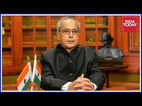 President Pranab Mukherjee Express Concerns About Demonetization