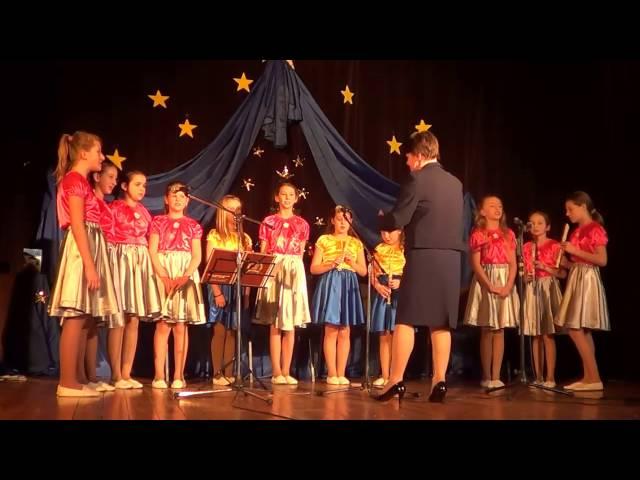 Śpiewające gwiazdki - Przylecieli tak śliczni anieli