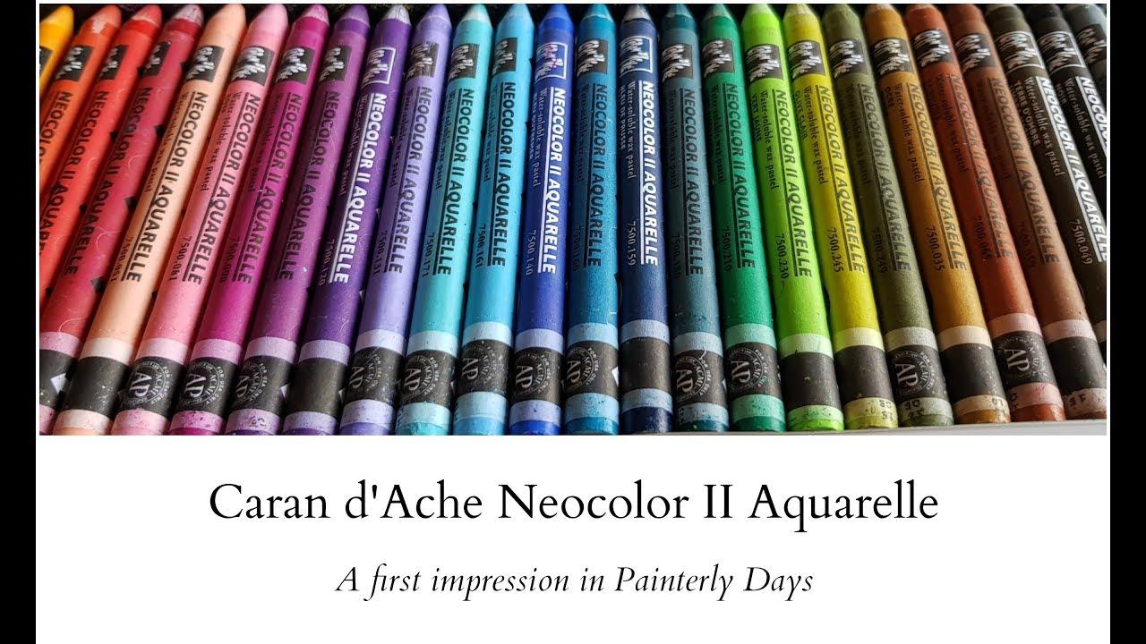 la meilleure attitude eab99 47116 Caran d'Ache Neocolor II Aquarelle - A first impression