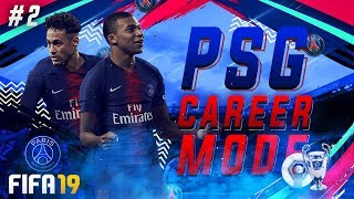 FIFA 19 PSG Career Mode EP2 - Another New Signing!! Champions League Begins!!