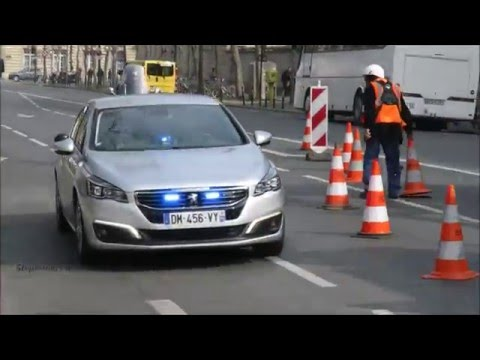 New French Unmarked Police Cars Youtube
