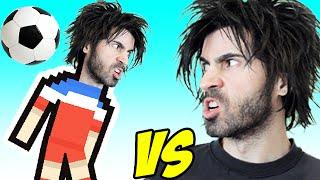 SOCCER PHYSICS vs The World's Worst Gamer!