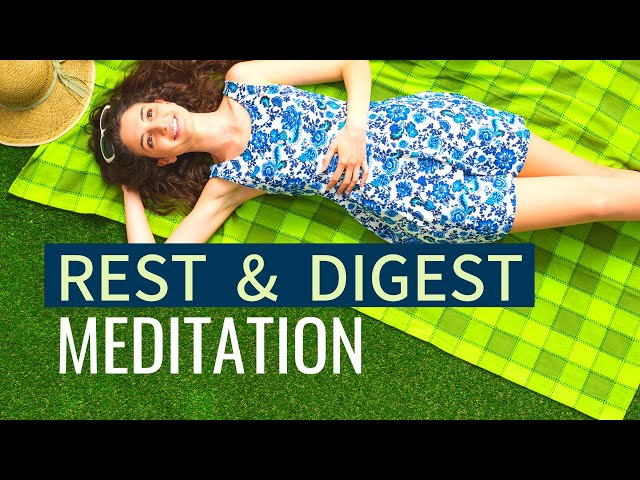 Meditation for Digestive Health | DIGESTION MEDITATION | Stomach Relaxation