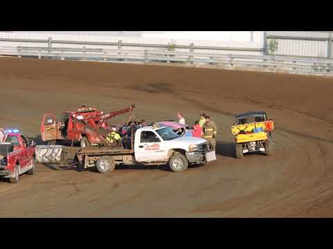 June 22. 2019 IMCA Hobby Stock Heat at Independence Motor Speedway