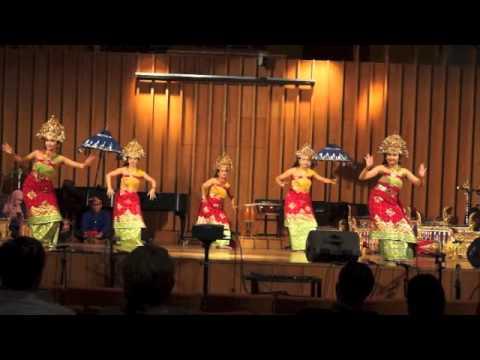 UIUC Balinese Gamelan and Dance Performance in NIU World Music Symposium April 11th 2015