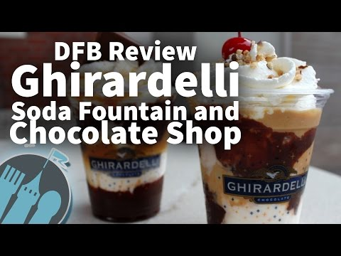 Review: Ghirardelli Soda Fountain and Chocolate Shop in Disney California Adventure