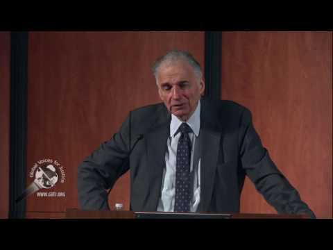 Ralph Nader La Verne YT 1 of 3