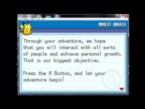 Easy Pokemon Lightning Yellow GBA Emulator Guide