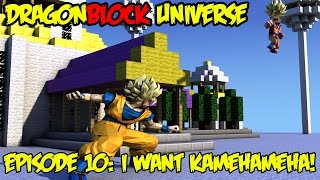Dragon Block Universe: Hardcore Saiyan Training! I WANT KAMEHAMEHA DAMN IT!! [EP 10]