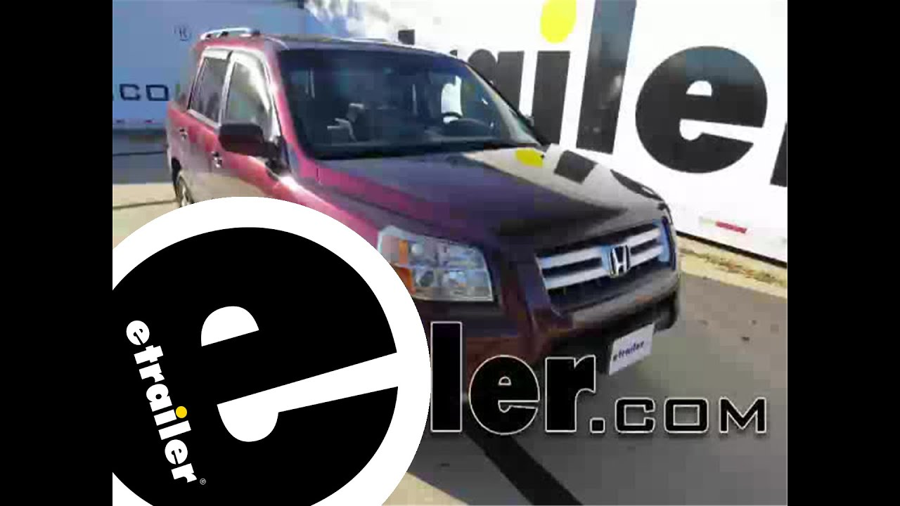 installation of a trailer wiring harness on a 2008 honda pilot -  etrailer com