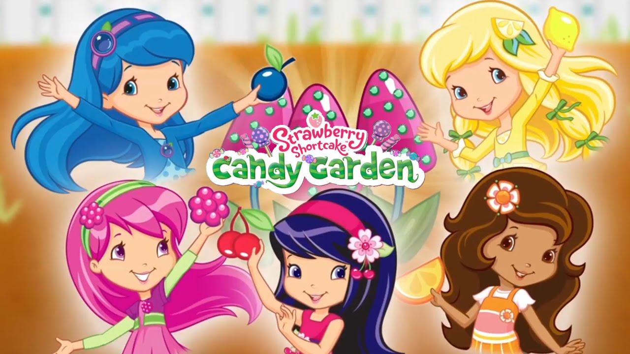 candy garden. Strawberry Shortcake Candy Garden (Budge Studios) - Best App For Kids YouTube C