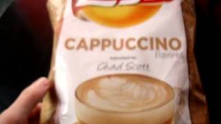 Trying Lay's Cappuccino Flavored Potato Chips