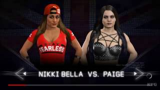 Wwe 2k17 Paige Vs Nikki Bella