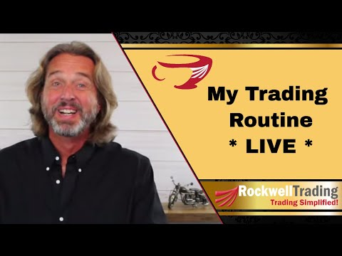 Coffee With Markus | My Daily Trading Routine