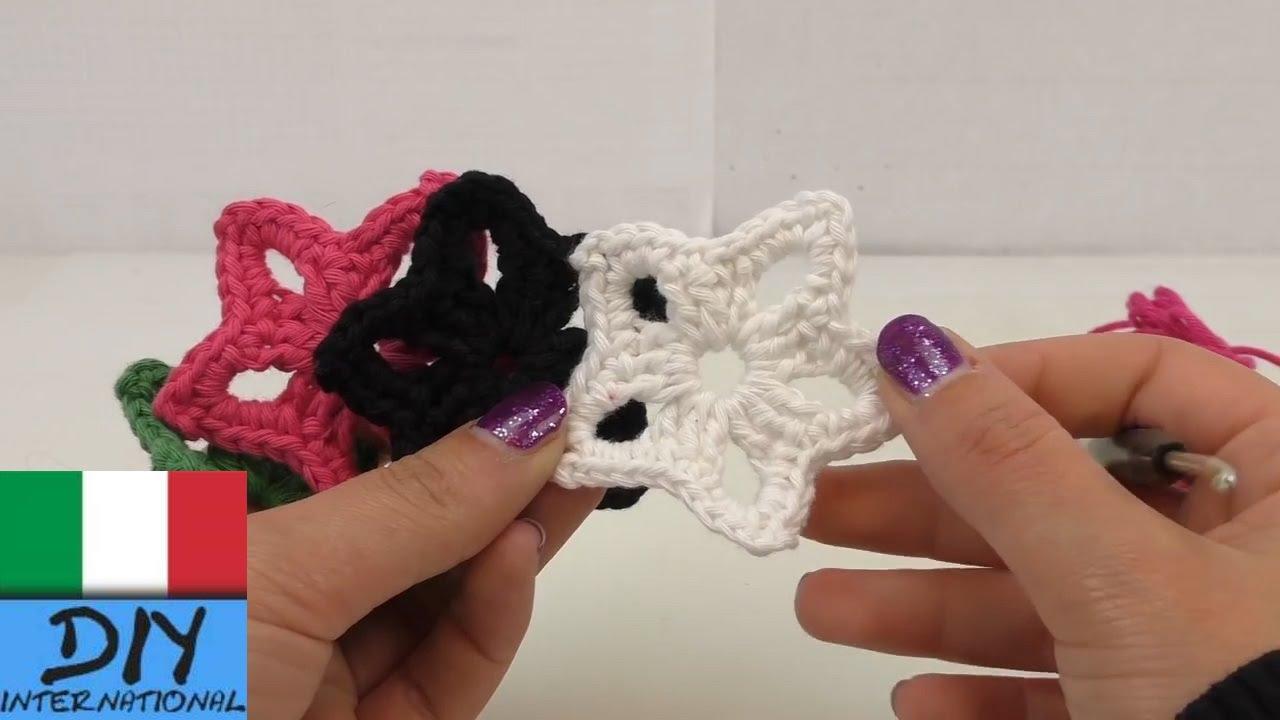 Stelle Ad Uncinetto Istruzioni Crochet Per Principianti Youtube