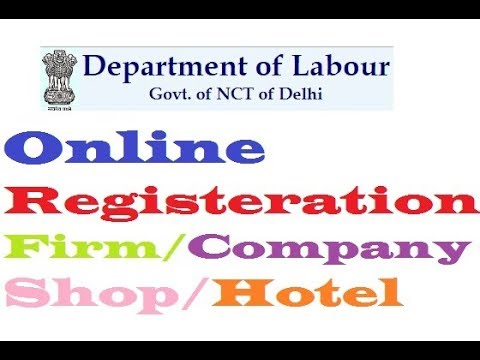 How To Online Register Firm/Company/Shop/Hotel In Delhi State HD 720P,1080P