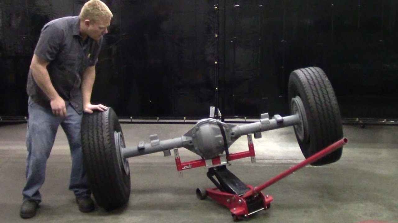 Jack Adapter Axle Demonstration For Floor Jacks Youtube