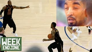 "J.R. Smith CLAIMS He ""Knew The Score Was Tied""! Was He DRUNK?! 