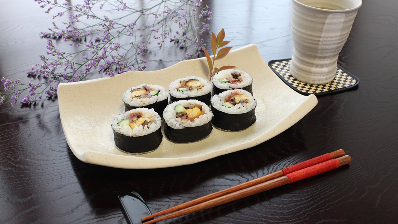 how to make maki sushi without mat