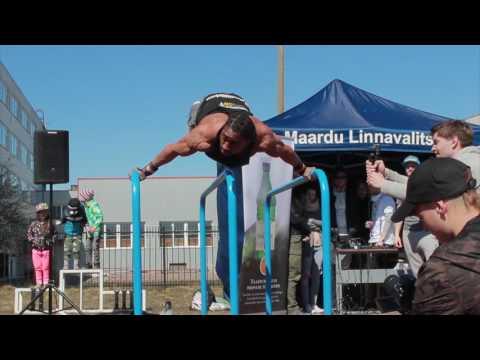 Street Workout Baltic Cup 2017 WINNER: Edgar Zindoga, BarStarzz Finland