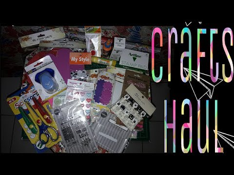 Crafts Haul #2: NBS/SM Supplies |Philippines