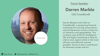 TF1 | Security Tokens and Future of Capital Markets | Darren Marble