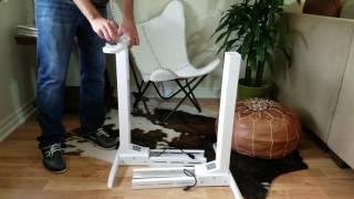 Flexispot Standing Desk UNBOXING & ASSEMBLY