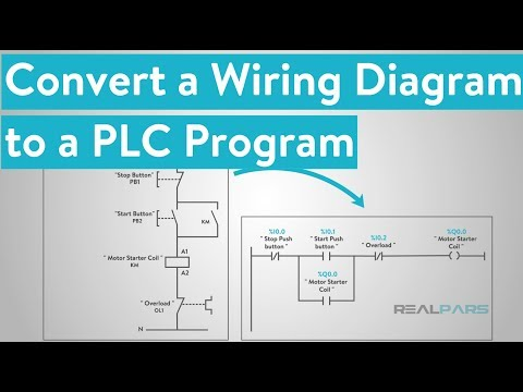 [SCHEMATICS_48YU]  How to Convert a Basic Wiring Diagram to a PLC Program - YouTube | Wiring Diagram Programming |  | YouTube