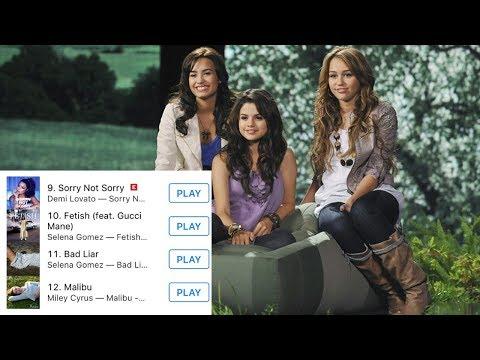 Selena Gomez, Miley Cyrus and Demi Lovato Helped Disney TAKE OVER Pop Music!