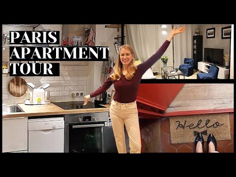 MY 1600€/$1900 PARIS APARTMENT TOUR 2021