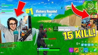 Fortnite ITA - STEF BATTE IL SUO RECORD DI KILL!! (15 KILLS)