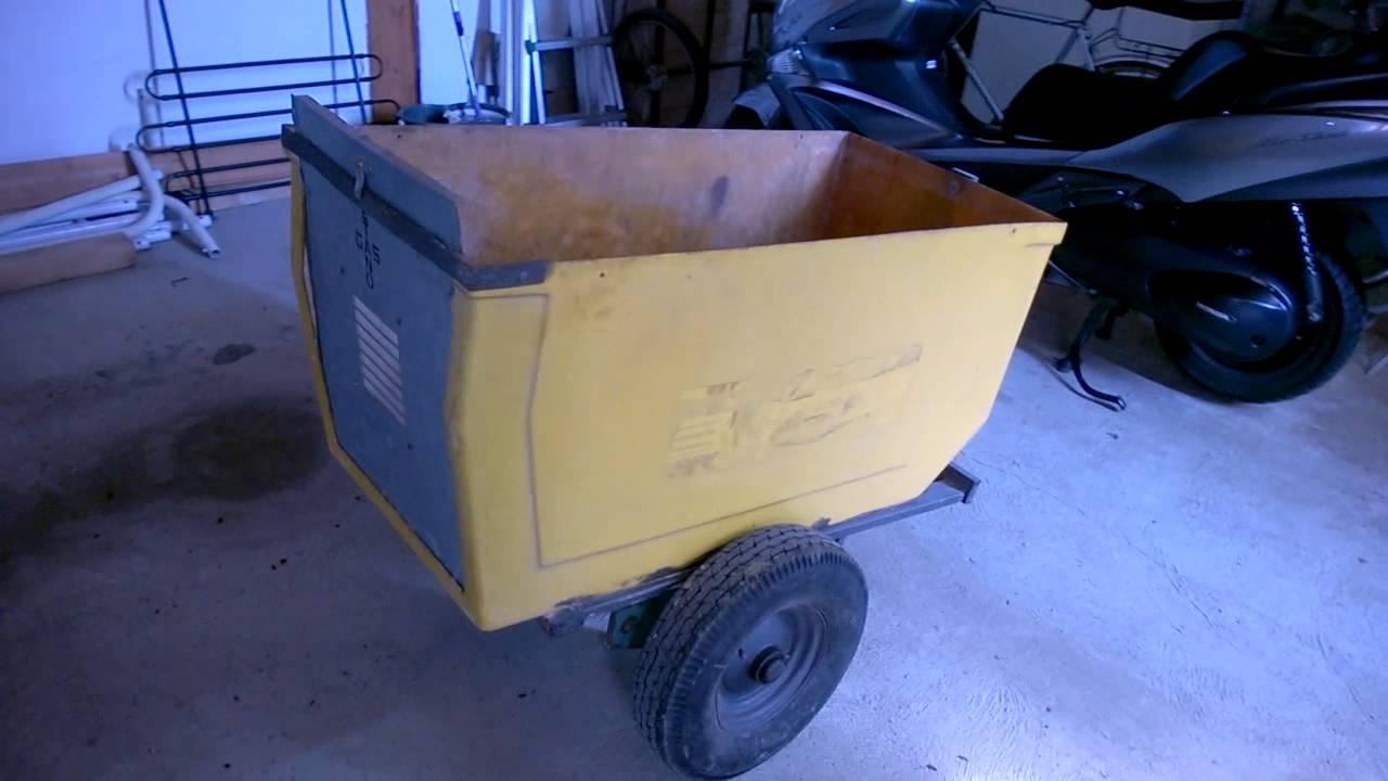 Carrello Da Giardino Usato : Guida come costruire un carretto con materiali di scarto youtube