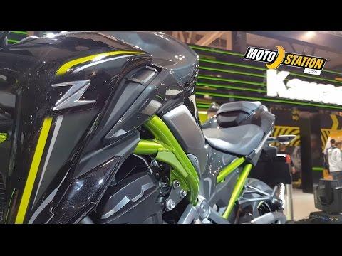 Eicma 2017 : Kawasaki Z900, attention roadster méchant !