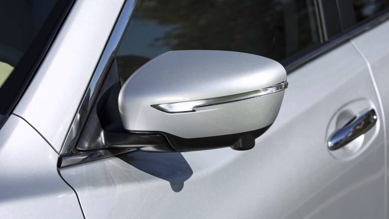2016 Nissan Rogue Outside Mirror Adjustments Youtube