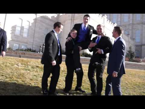 Melissa & Kelson Wedding Highlights- Manti Utah Temple