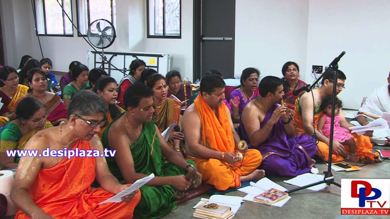 Part 5. Raghavendra Swamy Aradhane celebration 2015 at DFW hindu Temple in Dallas.