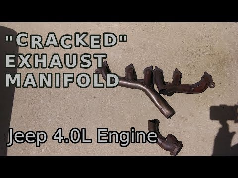 """TBL 18 - Cracked Exhaust Manifold Cleaning & Prep Jeep Wrangler: """"The Jeep"""" (Part 2/3)"""