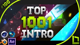 [BEST] Top 1000 Intro Template #100 (C4D,AE,BLENDER,SVP) + Free Download