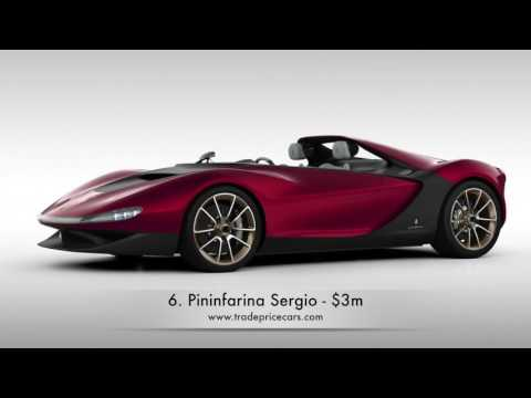 Top Ten Most Expensive Cars in the World - Trade Price Cars