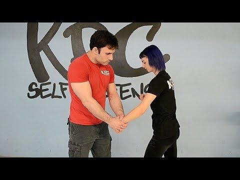 Double Handed Wrist Grabs. Women's Self Defense Ft. Randy King