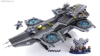 LEGO Marvel Shield Helicarrier detailed review! set 76042