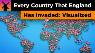 Every Country England Has Invaded: Visualized
