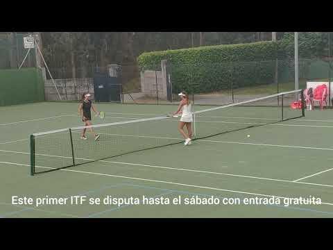 Jéssica Bouzas, en cuartos de final en el Torneo de Sanxenxo
