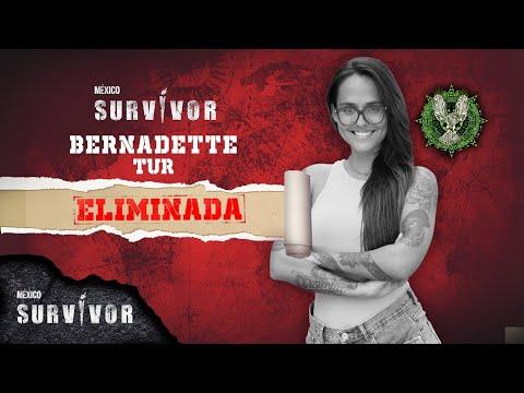 Bernadette Tur queda eliminada de Survivor México. | Survivor México