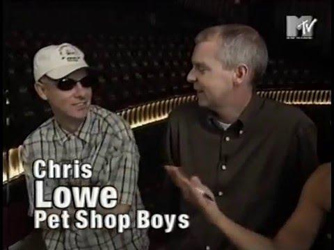 MTV News Pet Shop Boys - Savoy Theatre Concert Interview