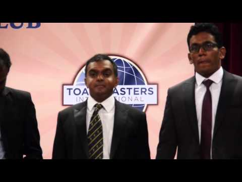 Singapore Ceylon Tamils Association Toastmasters Club Inauguration Ceremony Part 2