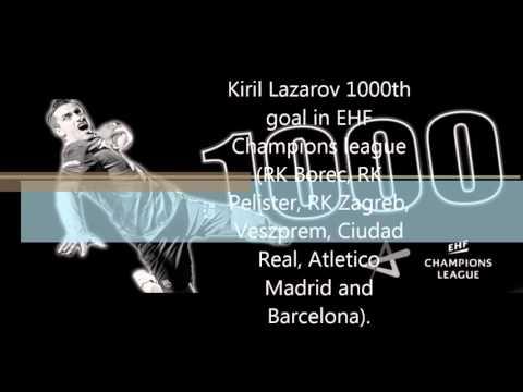 Kiril Lazarov 1000th goal in EHF Champions League