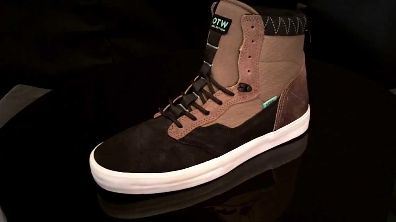 9d4a85efa6 Vans Lynwood sneaker Tech Black Brown VUAU8L - YouTube