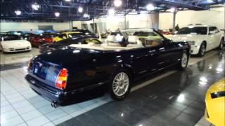Bentley Azure 1998 d'occasion à vendre john scotti auto sport cars luxe exotics, stock number P6432