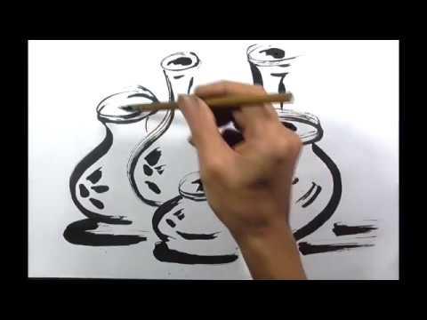Melukis Sketsa Kendi Belajar Cara Menggambar Dan Melukis Youtube